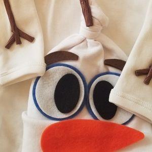 Olaf Costume for Newborn